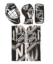 Nhl Mini Hockey Goalie Equip & Mask Set
