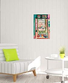 "Open Window at Collioure - 26"" x 18"" x 0.75"""