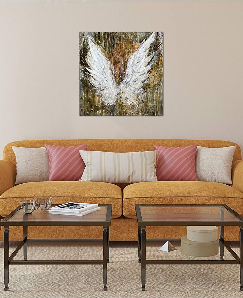 """iCanvas """"Gentle Strength"""" by Julian Spencer Gallery-Wrapped Canvas Print (26 x 26 x 0.75)"""