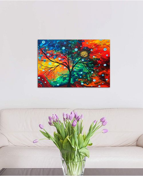 """iCanvas """"Fiery Dreams"""" by Megan Duncanson Gallery-Wrapped Canvas Print (18 x 26 x 0.75)"""