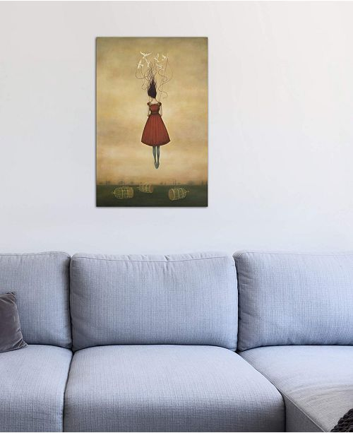 """iCanvas """"Suspension of Disbelief"""" by Duy Huynh Gallery-Wrapped Canvas Print (40 x 26 x 0.75)"""