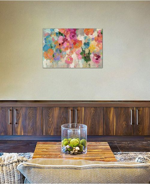 """iCanvas """"Colorful Garden I"""" by Silvia Vassileva Gallery-Wrapped Canvas Print (26 x 40 x 0.75)"""