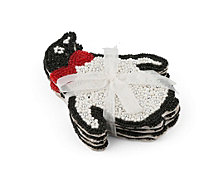 Thirstystone Beaded Penguin Coasters Set of 4