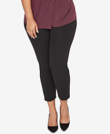 RACHEL Rachel Roy Trendy Plus Size Skinny Ankle Pants
