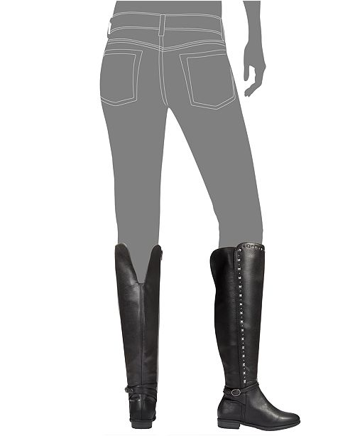 513ddf6ec8 Rialto Ferrell Studded Over-The-Knee Boots & Reviews - Boots - Shoes ...
