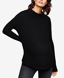Maternity Mockneck Sweater