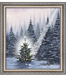 Christmas Tree by The Macneil Studio Framed Art