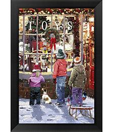 Toy Shop 2 by The Macneil Studio Framed Art
