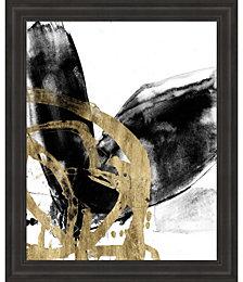 Sliced Vortex II by Jennifer Goldberger Framed Art
