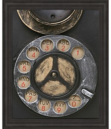 Old Vintage Pay Phone II by Unknown Framed Art