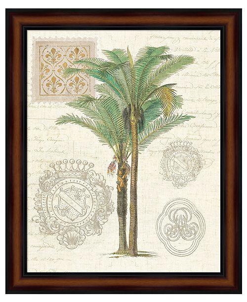 Metaverse Vintage Palm Study II by Wild Apple Portfolio Framed Art