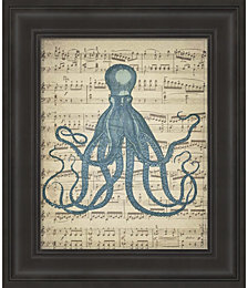 Octopus 2 by Natasha Wescoat Framed Art