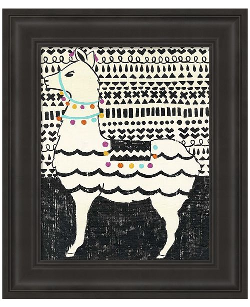 Metaverse Party Llama II by Chariklia Zarris Framed Art