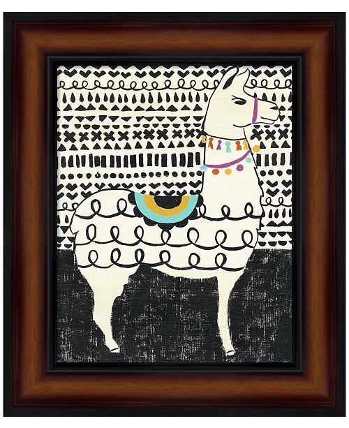Metaverse Party Llama I by Chariklia Zarris Framed Art