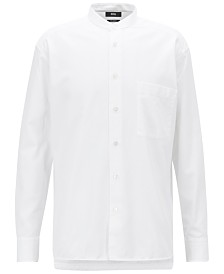 BOSS Men's Relaxed-Fit Cotton Shirt