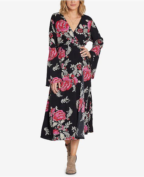 Billabong Juniors' Floral Whispers Printed Midi Dress