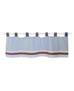 First Mate Curtain Valance Bedding