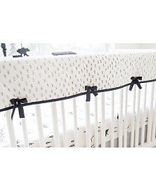 Little Black Bear Crib Rail Cover