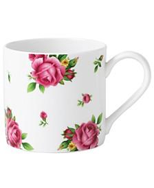 New Country Roses White Modern Mug