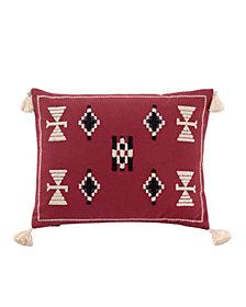 "Jicarilla Embroidered 12"" X 16"" Breakfast Pillow"