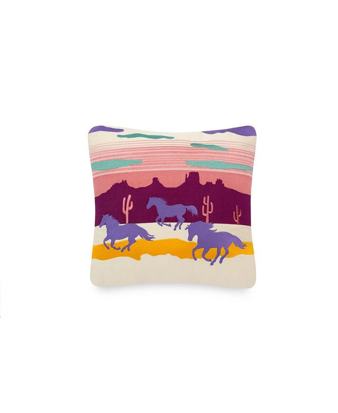 "Tracy Porter Ponies 18"" X 18"" Pillow"