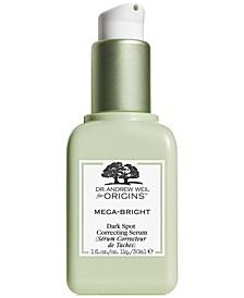Dr. Andrew Weil for Origins Mega-Bright Dark Spot Skin Tone Correcting Serum, 1 oz.