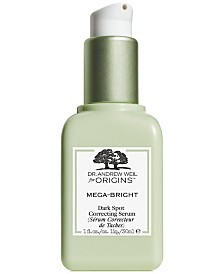 Origins Dr. Andrew Weil for Origins Mega-Bright Dark Spot Skin Tone Correcting Serum, 1 oz.