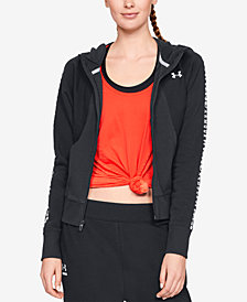 Under Armour Ottoman Fleece Zip Hoodie