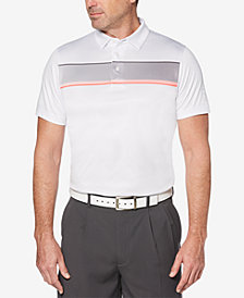 PGA TOUR Men's Stripe Golf Polo
