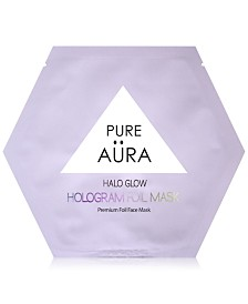 Pure Aura Halo Glow Hologram Foil Mask