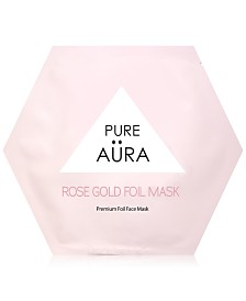 Pure Aura Rose Gold Foil Mask