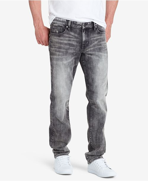 WILLIAM RAST Men's Hixson Straight Jeans