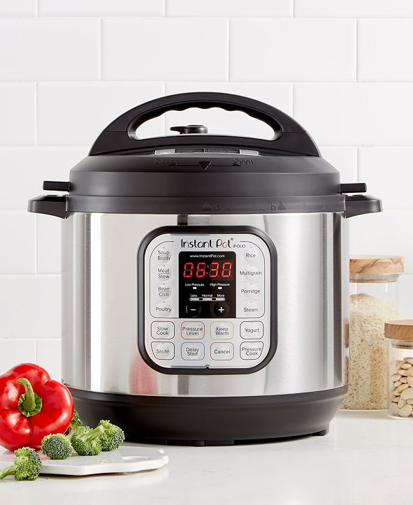 Instant Pot DUO80  7-in-1 Programmable Pressure Cooker 8-Qt.