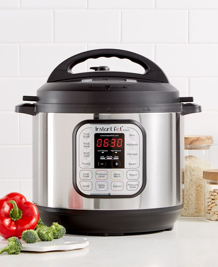Instant Pot - DUO80 8-Qt. Electric Programmable Pressure Cooker