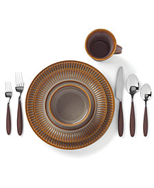 Dansk Flamestone Caramel Dinnerware Collection