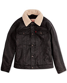Levi's® Big Boys Sherpa Moto Jacket