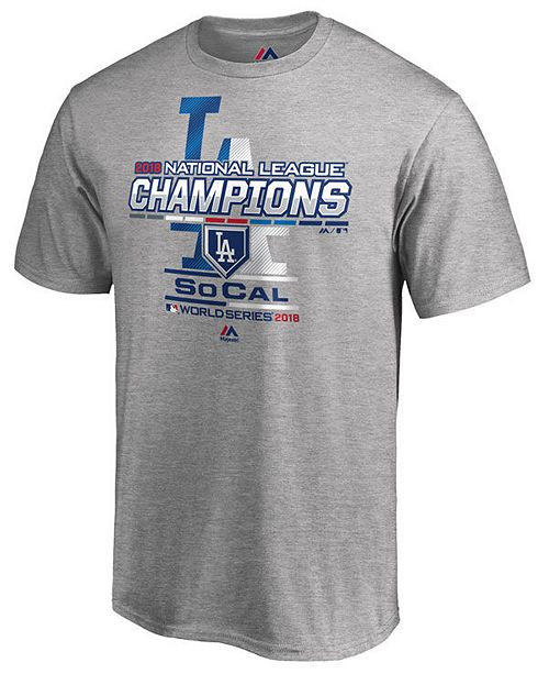 3785b743 ... Majestic Men's Los Angeles Dodgers League Champ T-Shirt ...