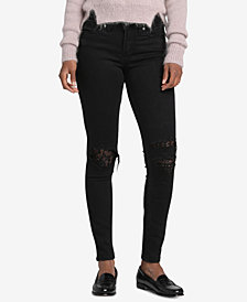 Silver Jeans Co. Distressed Aiko Skinny Jeans