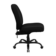Hercules Series Big & Tall 400 Lb. Rated Black Fabric Executive Swivel Chair