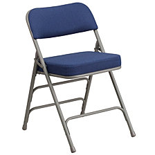 Hercules Series Premium Curved Triple Braced Folding Chair