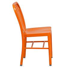 Orange Metal Indoor-Outdoor Chair