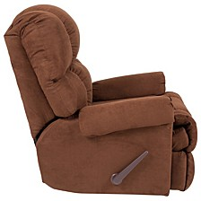 Riverstone Sierra Chocolate Microfiber Rocker Recliner