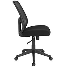 Salerno Series High Back Black Mesh Chair
