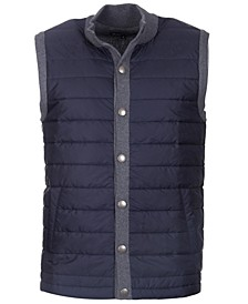 Mens Classic Fit Snap-Front Vest