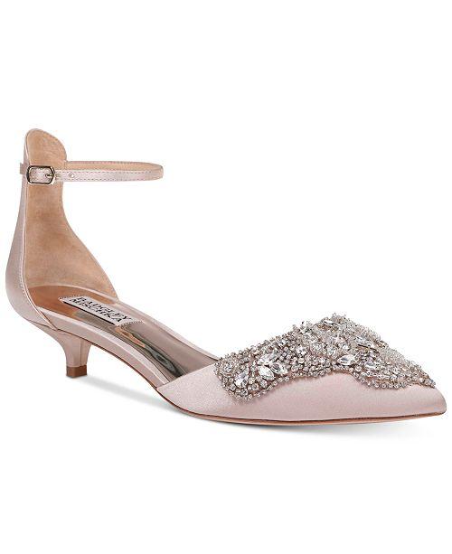 dfa0b95c847 Badgley Mischka Fiana Evening Pumps & Reviews - Pumps - Shoes ...