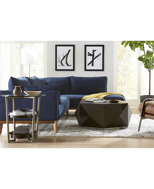 "Www Macyfurniture: Furniture Jollene 113"" 2-Pc. Sectional, Created For Macy's"