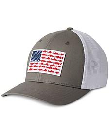 Men's PFG Mesh Fish Flag Ball Cap