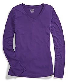 EMS® Women's Techwick® Vital V-Neck Long-Sleeve Tee