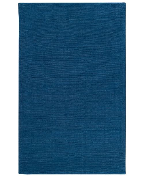 "Surya Mystique M-330 Dark Blue 3'3"" x 5'3"" Area Rug"