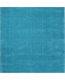 """Surya Mystique M-342 Bright Blue 9'9"""" Square Area Rug"""